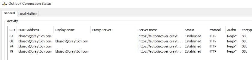 Configuring MAPI/HTTP in Exchange Server 2016 - Peters