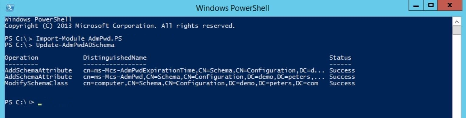Manage Windows Local Administrator Passwords with LAPS - Peters ...