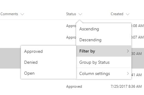 PowerApps – Filter SharePoint List Items - Peters & Associates